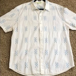 Tommy Bahama white  cotton shirt